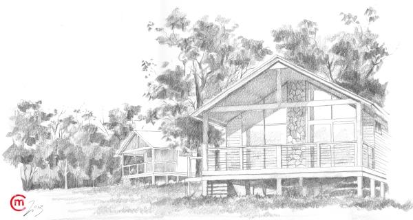 The Huts LR