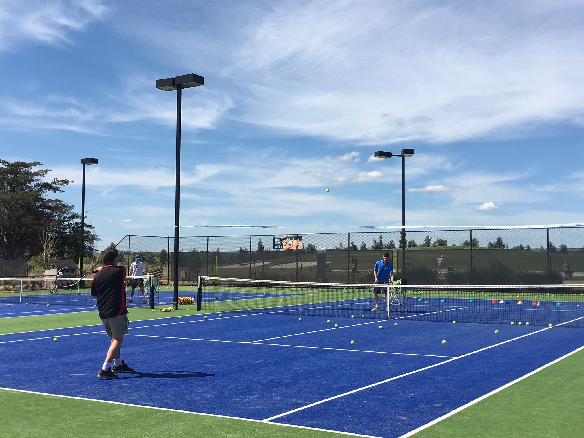 Competition Tennis at Eastern Golf Club