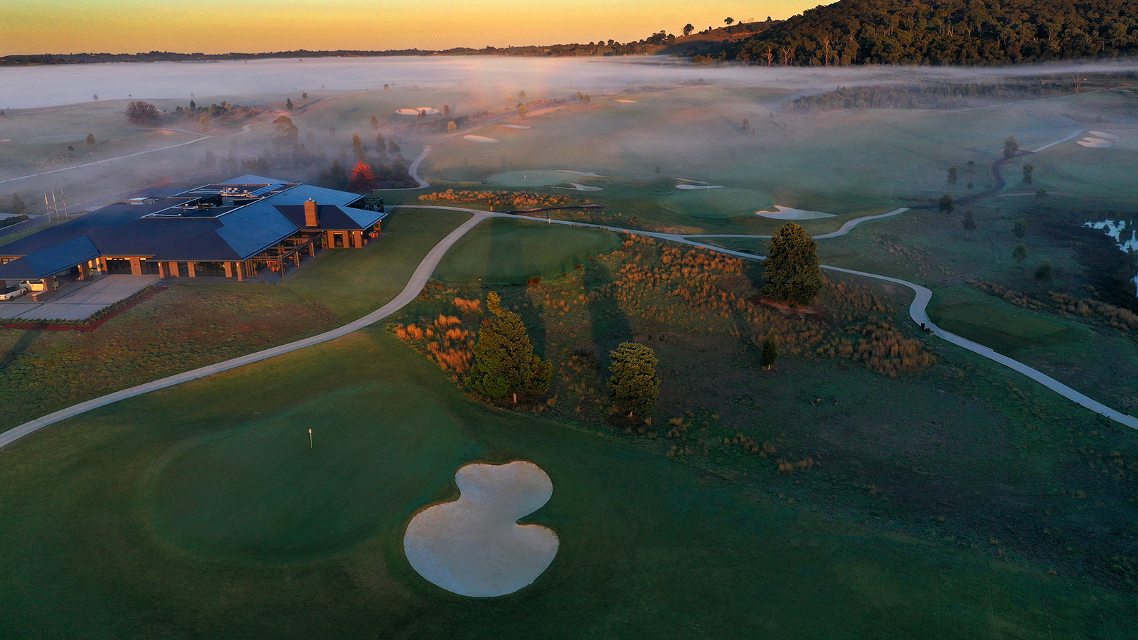The Eastern Golf Club - Sunrise - 27th Hole