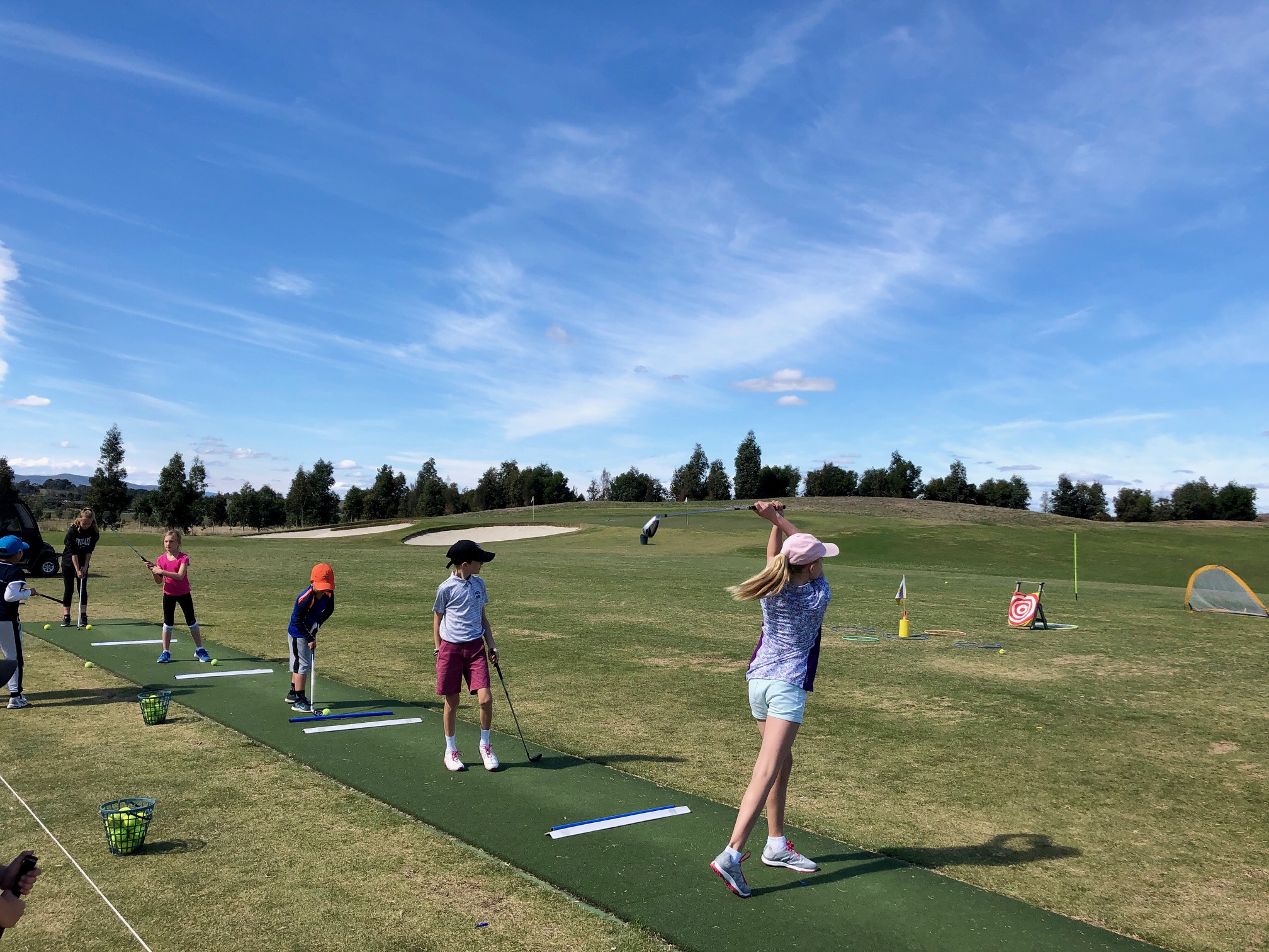 Golf & Tennis School Holiday Program
